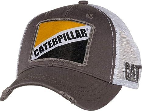 "Caterpillar CAT Equipment Gray Twill /""Property of Caterpillar 1925/"" Cap//Hat"