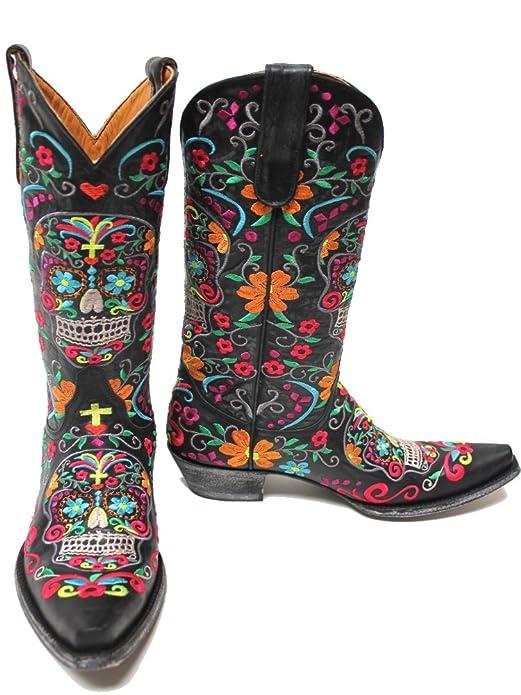 276d471a5ef Old Gringo Klak Womens Boots - Black L1300-1