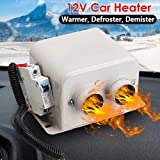 IXAER Car Heater Car Windshield Defogger Defroster 12V 800W Car Heater Kit, High Power 5 Second Fast Heating Defrost for Automobile Windscreen Winter