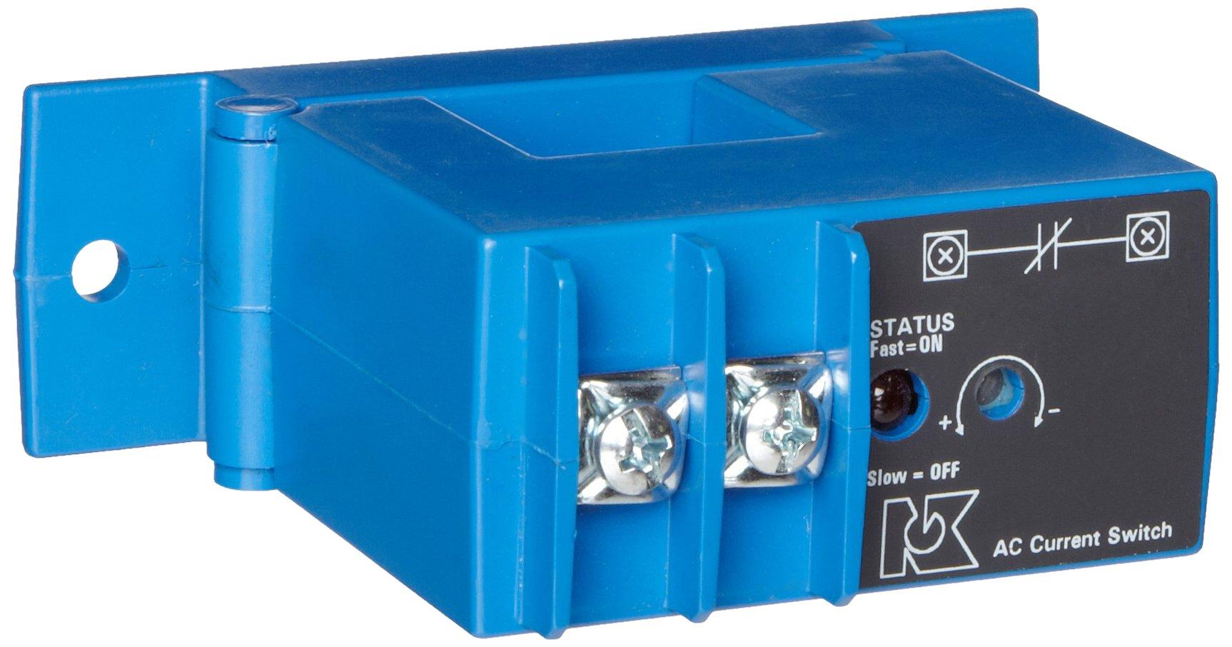 NK Technologies AS1-NOU-SP AC Current Switch, Normally Open, Split-core, 1.75-150A Input Range, Universal Output