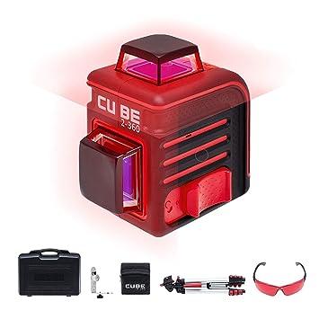 59a263af2c541 Nível Laser Linhas 360 graus 40m Cube 2-360 com Maleta-ADA-CUBE2-360 ...