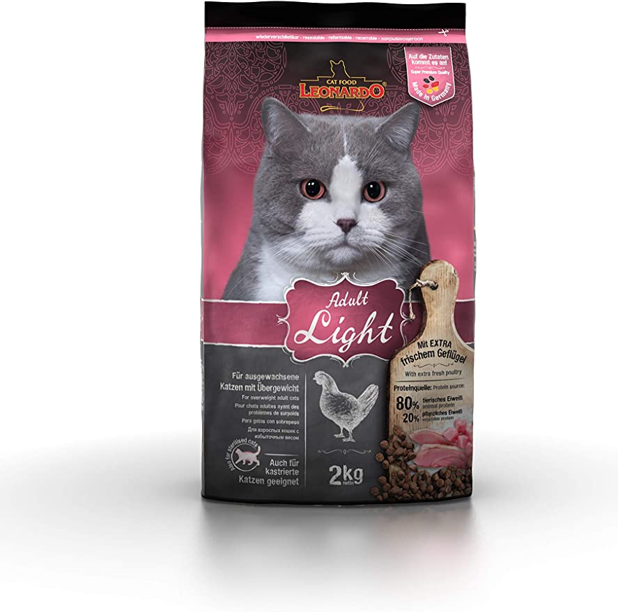 Belcando Leonardo Feline Adult Light 2Kg 2000 g: Amazon.es: Productos para mascotas