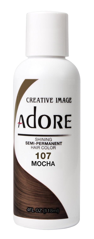 Adore Shining Semi Permanent Hair Colour, 107 Mocha AD-107