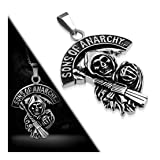 Stainless Steel 2 Color Sons of Anarchy Grim Reaper