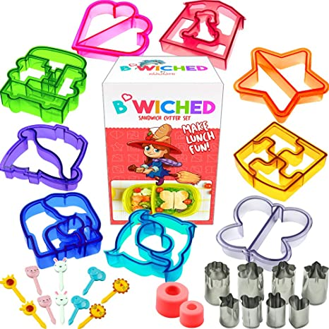 Amazon 29pc Sandwich Cutter Set For Kids Of All Ages Turn