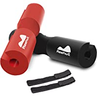 REEHUT Barbell Squat Pad - Advanced Neck & Shoulder Ergonomic Protective Pad Support for Squats, Lunges & Hip Thrusts - Fit Standard and Olympic Bars Perfectly