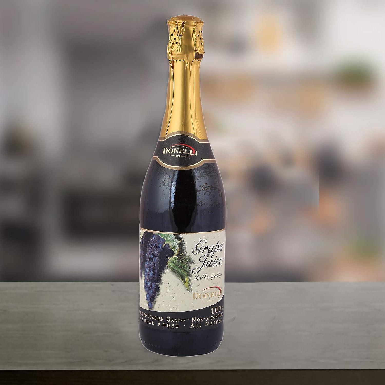 Donelli Non-Alcoholic Red Wine   Grape Juice,750 ml