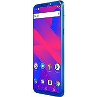 Blu Studio Mega 2018 - Smartphone Desbloqueado HD de 6 Pulgadas con cámara Principal Dual, Color Azul