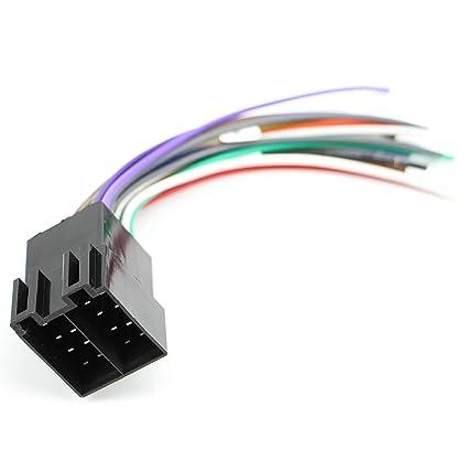 amazon com: xtenzi car radio wire harness compatible with alpine cd dvd  navigation in-dash - xt1784: automotive