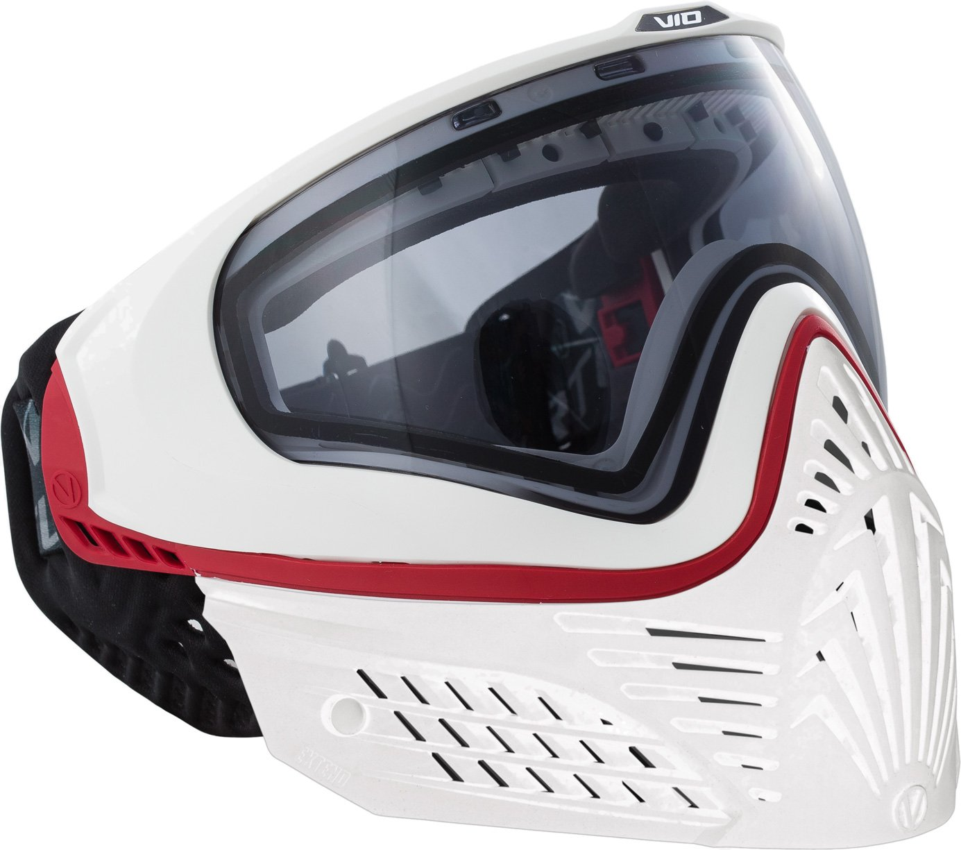 Virtue VIO Extend PRO Thermal Paintball Goggles/Masks - Red/White by Virtue Paintball