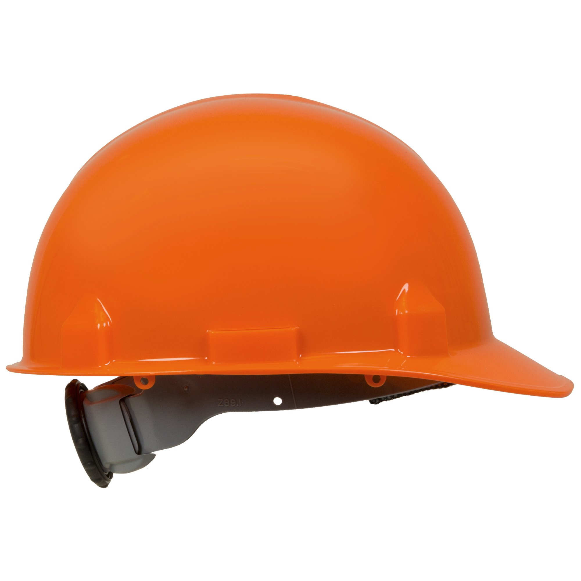 Jackson Safety SC-6 Hard Hat (14839), 4-Point Ratchet Suspension, Smooth Dome, Meets ANSI, Orange, 12 / Case by Jackson Safety (Image #3)