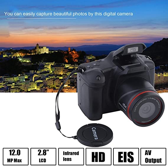 Portable HD Digital Medium/Long Focus SLR Camera Anti-Shake DV Camcorder
