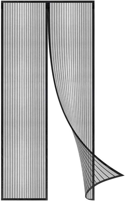 magnetische Adsorption Flei Magnet Fliegengitter T/ür 70x180cm for T/üren//Patio Auto Schlie/ßen Schwarz Insektenschutz Magnet Fliegenvorhang