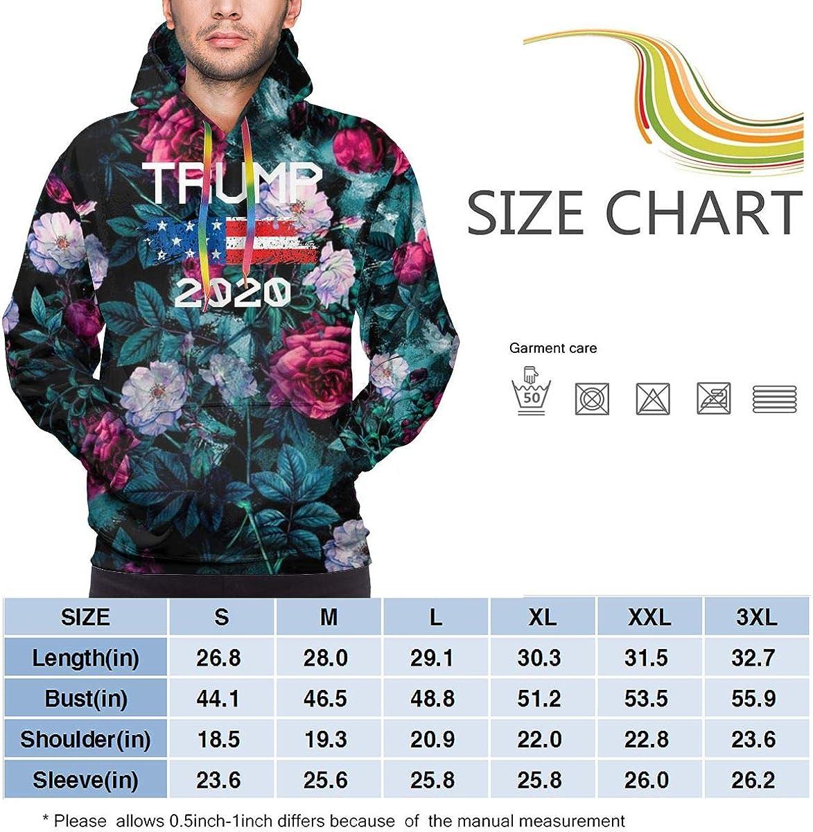 MUSICOT Mens Athletic Pullover Cozy Sport Outwear Trump 2020 Come Sweatshirt Hoodies