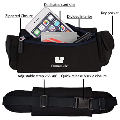 Amazon.com: Vangoddy – Fitness Bundle pulsera y cintura Pack ...