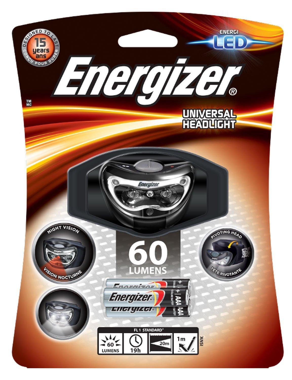 Lampe frontale Energizer Vision HD LED Energizer Batteries E300280500