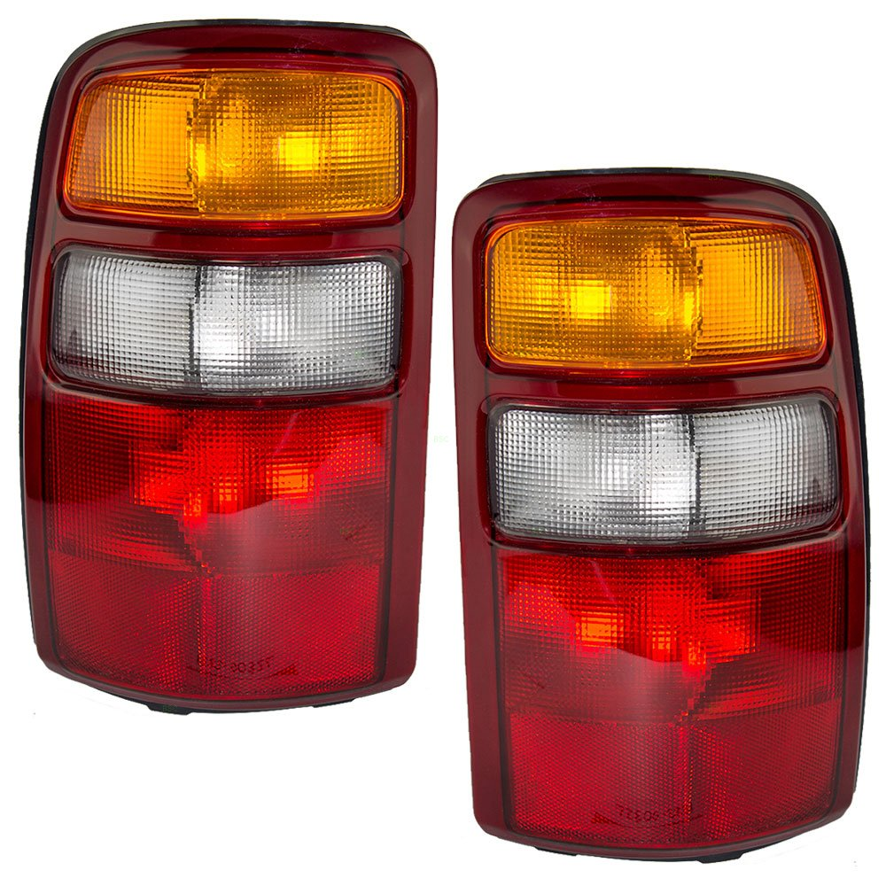 Driver and Passenger Taillights Tail Lamps Replacement for Chevrolet GMC SUV 15198449 15224278 AUTOANDART.COM