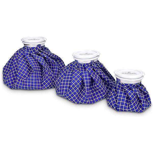 Navaris Set de 3 bolsas para frío y calor - Kit de 3 bolsas ...