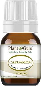 Cardamom Essential Oil 5 ml. 100% Pure Undiluted Therapeutic Grade.