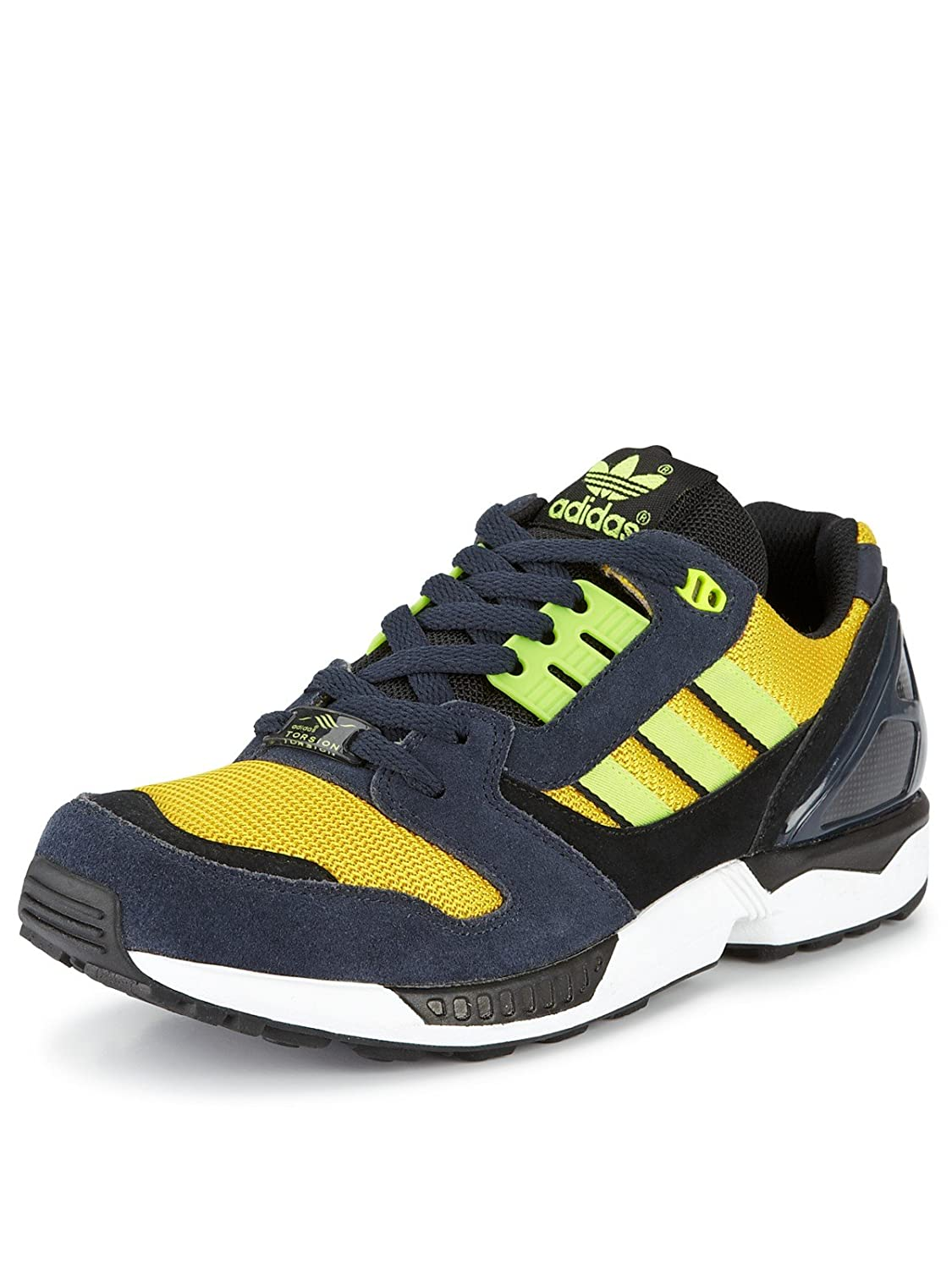 d9d8d97326c83 Adidas Originals Zx 8000 Navy Yellow Running Shoes Classic Men D65460  (8.5)  Amazon.ca  Shoes   Handbags