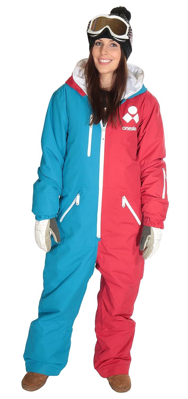 Oneskee Mark II Damen Einteilige Skianzüge - Ski-Anzug onesie