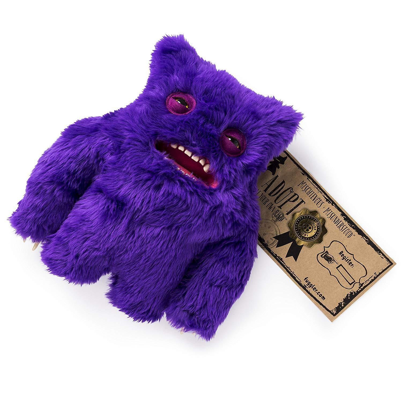 Fuggler - Large Funny Ugly Monster Plush - Violeta: Amazon ...