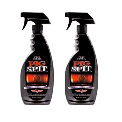Pig Spit PSFD-2PK Fast Mirror Shine with Professional Detailer Protection Spray Quickly Applies in Minutes, 22 oz, 2-Pack, 44, 2 Pack: Automotive