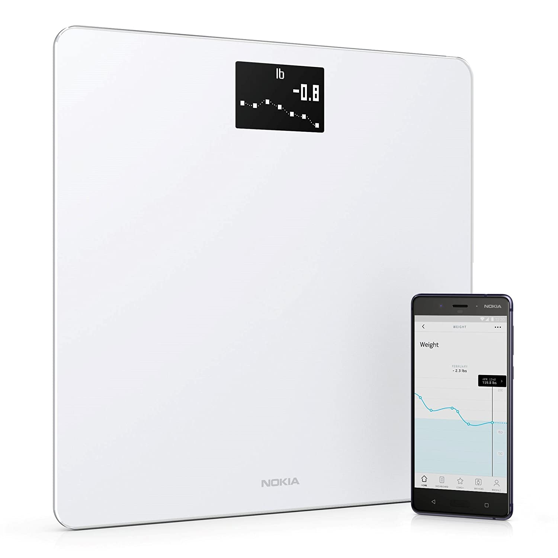Nokia Body - Báscula WiFi medidora de IMC, blanco: Amazon.es: Salud y cuidado personal