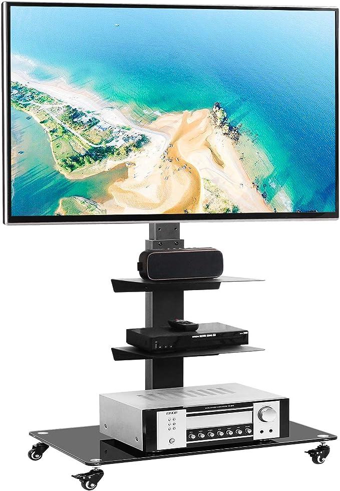 Rfiver TF5002 - Soporte universal para TV con soporte giratorio para la mayoría de televisores de pantalla plana y curva de 32