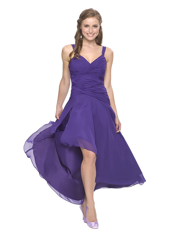 Traumhaftes knielanges Cocktailkleid, Farbe lila, Gr.32 von ...