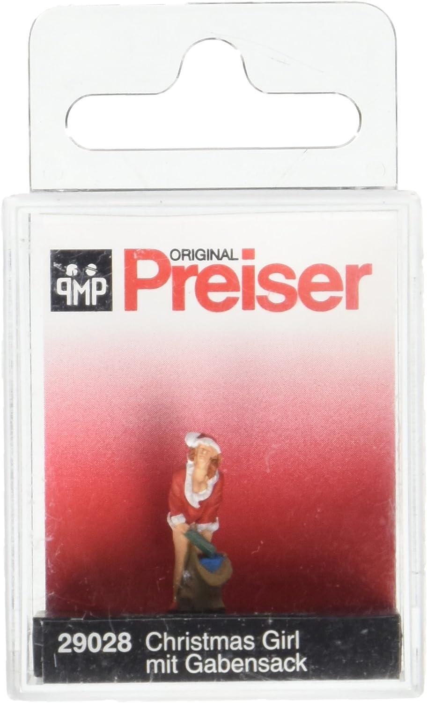 Preiser 29088 H0 Weihnachtsfräulein mit Glöckchen