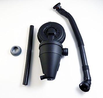 Kit de válvula de ventilación PCV para separador de aceite de cárter 11151703775 para 328is M3 Z3 328i 1996 1997 1998 1999 2000: Amazon.es: Coche y moto