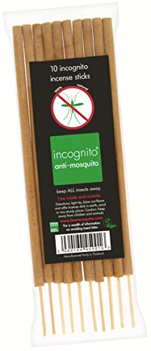 Incognito Anti-Mosquito Incense Sticks 10g.