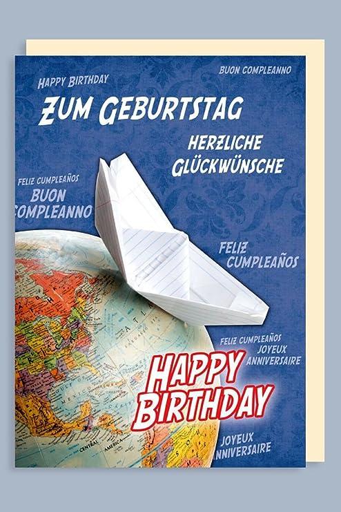 Tamaño gigante Tarjeta de felicitación de cumpleaños ...