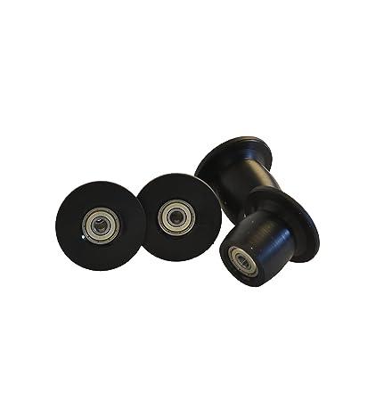 Amazon.com: Total Gym Juego de 4 ruedas/rodillos de repuesto ...
