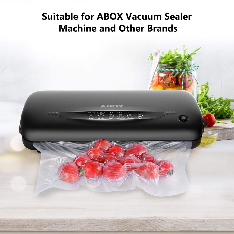 Amazon.com: ABOX - Sellador de vacío automático con bolsas ...