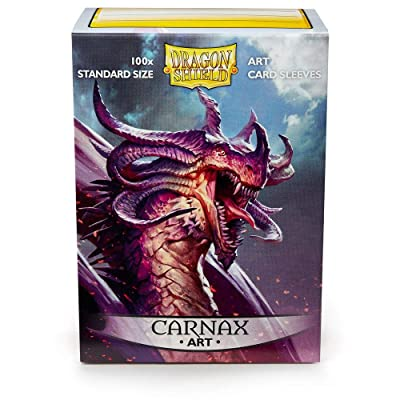 Sleeves: Dragon Shield Limited Edition Art Sleeves: Carnax: Toys & Games