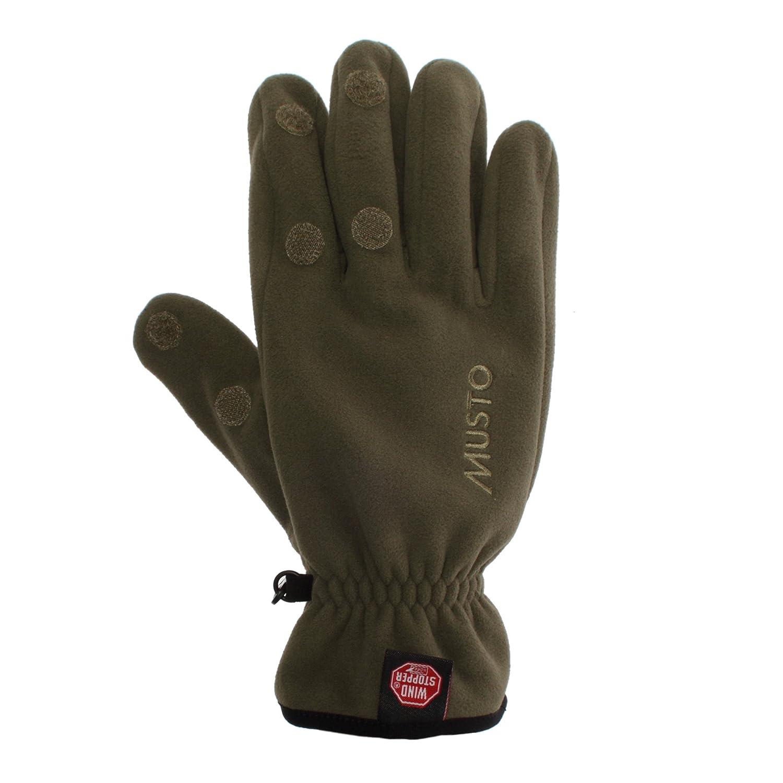 Musto Windstopper Shooting Glove Dark Moss