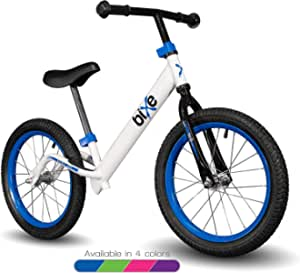 "Bixe 16"" Pro Balance Bike for for Big Kids 5, 6, 7, 8 and 9 Years Old"