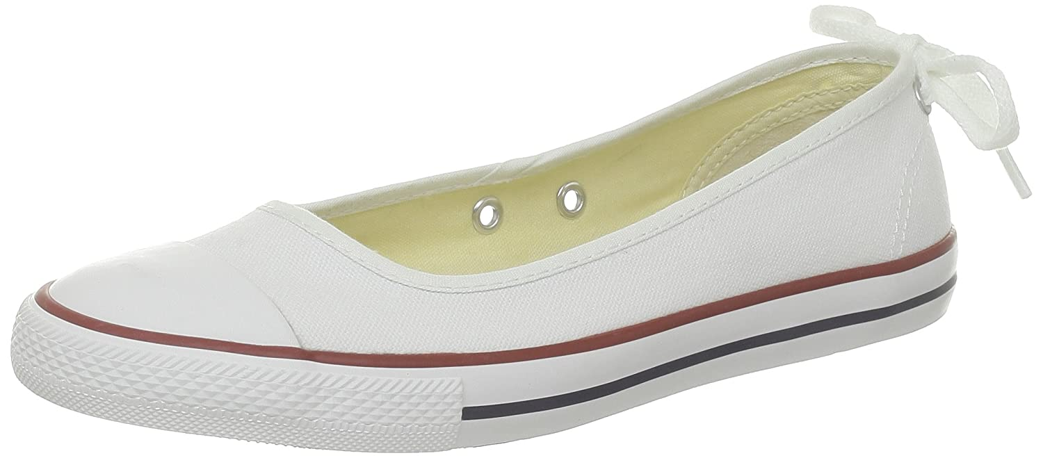1ad0e1fcd2d8 Converse Women s As Dainty Ball Ballet Flats  Amazon.co.uk  Shoes   Bags