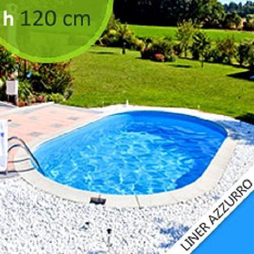 Kit Piscina In Acciaio Skyblue Comfort 600 H 1 20 Amazon It Giardino E Giardinaggio