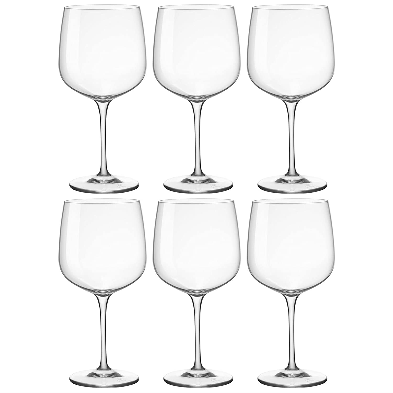 Bormioli Rocco Premium Gin & Tonic Cocktail Glasses - 755ml (25.5oz) Pack of 6 Copa Balloon Glasses