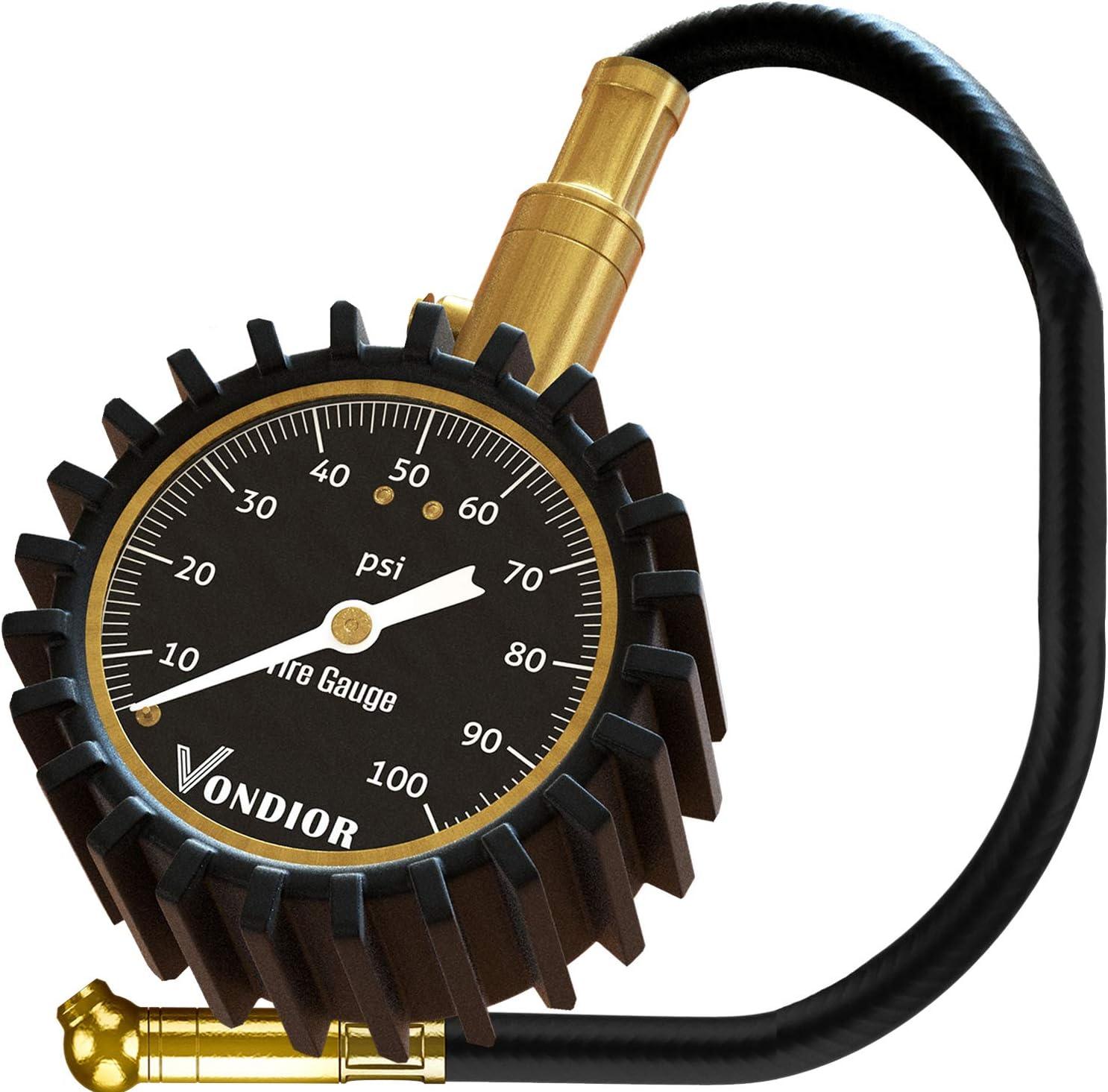 Vondior Heavy Duty Tire Pressure Gauge