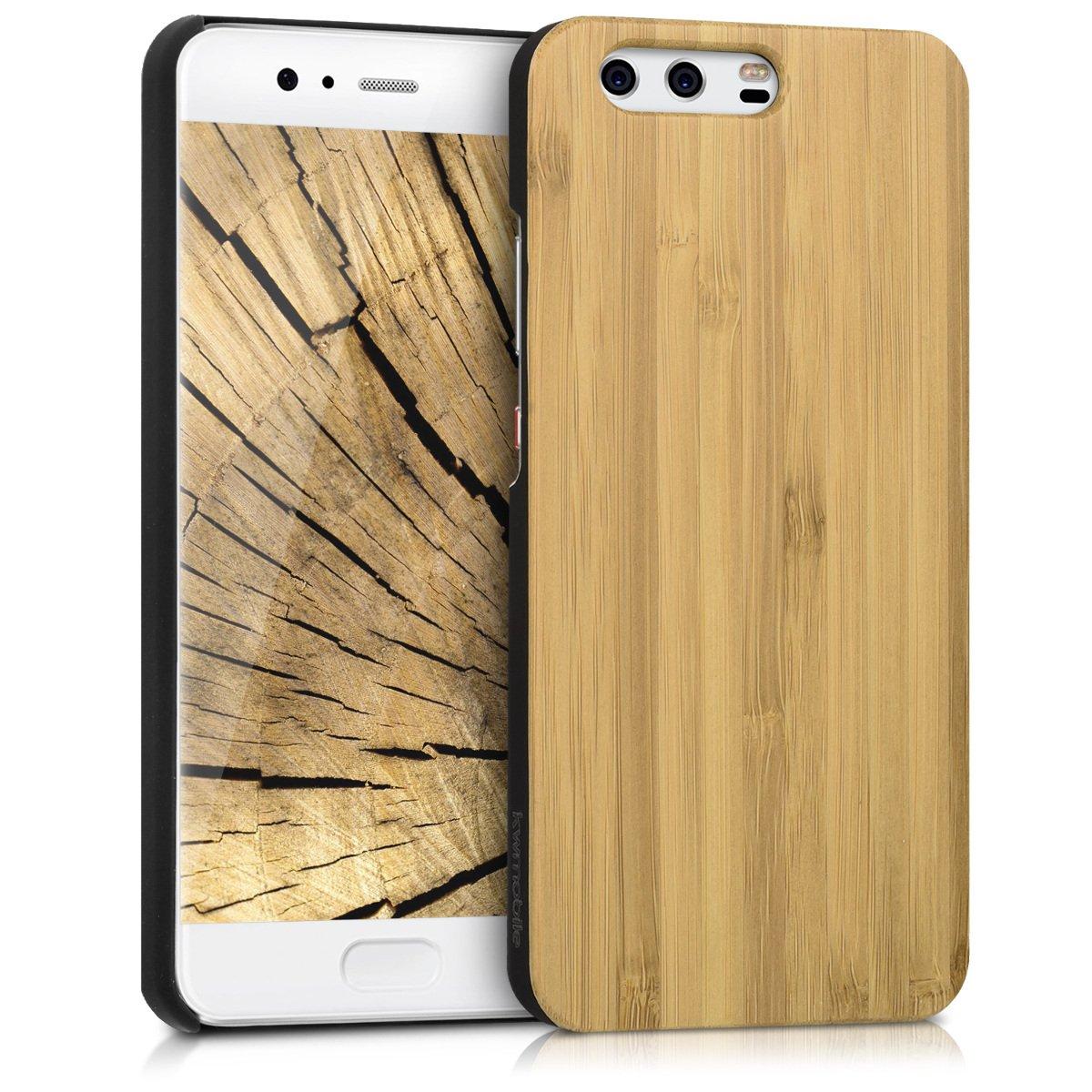 Amazon.com: Kwmobile Huawei P10 - Carcasa de madera para ...