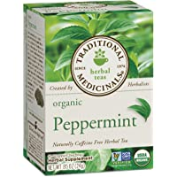 96-Count Organic Peppermint Herbal Leaf Tea