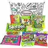 Mini Surtido de Gominolas Ácidas   Selección de Golosinas Americanas Ácidas  La caja incluye Warheads Extreme, Sour Jelly Beans, Bubblegum   Pack de fiesta   12 unidades
