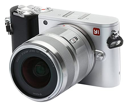 YI M1 4K Video 20 MP Mirrorless Digital Camera with Interchangeable Lens 12-40mm F3. 5-5. 6 Ice Silver(US Edition) Camera Lenses at amazon