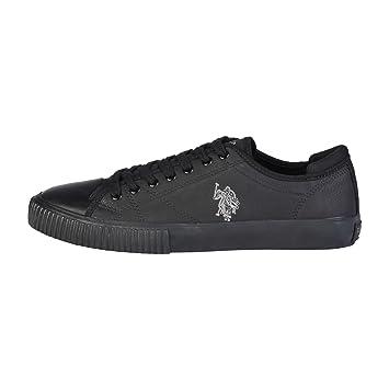 U.S. Polo Assn. CADEX4219W7 Y1 Sneakers Men Black 44  Amazon.co.uk ... 202e972495a