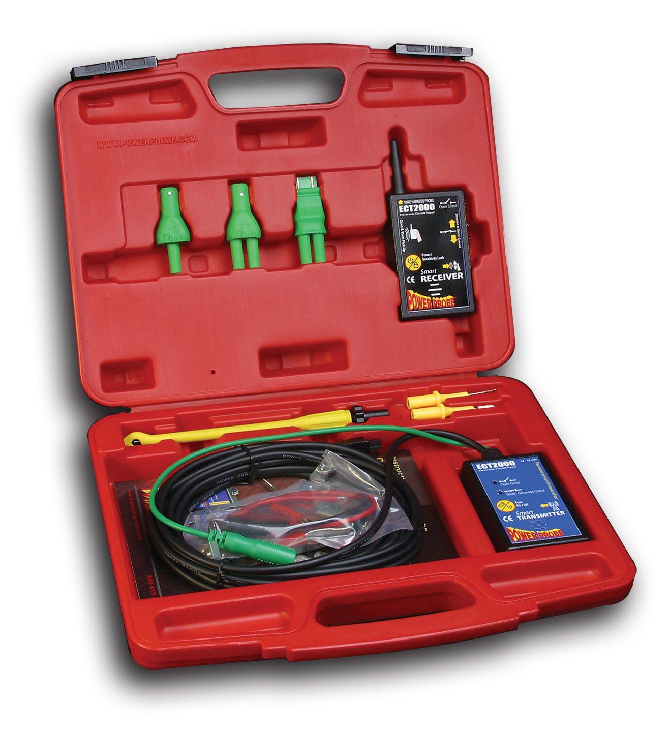 Power Probe Ect2000 Short Open Circuit Detector Automotive Cable Wire Tracker Openshort Digital Repair Tester Allsun