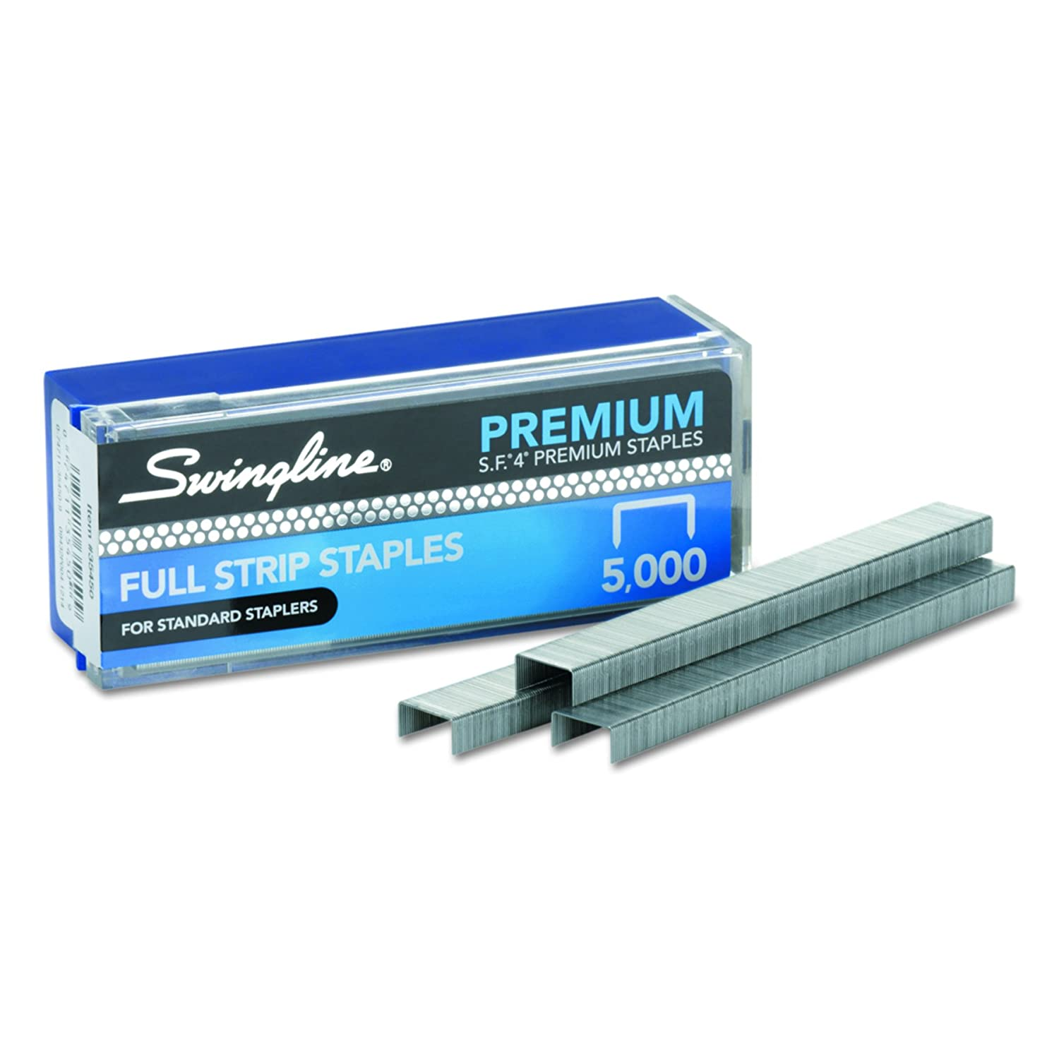 "swingline staples s f 4 premium 1 4"" length 210"